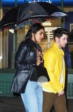 PRIYANKA CHOPRA and Nick Jonas at Mr Chow in New York 04/05/2019