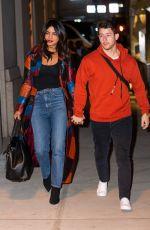 PRIYANKA CHOPRA and Nick Jonas Out in New York 04/04/2019