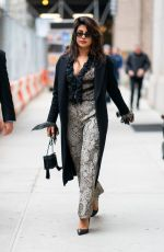 PRIYANKA CHOPRA Out and About in New York 04/12/2019