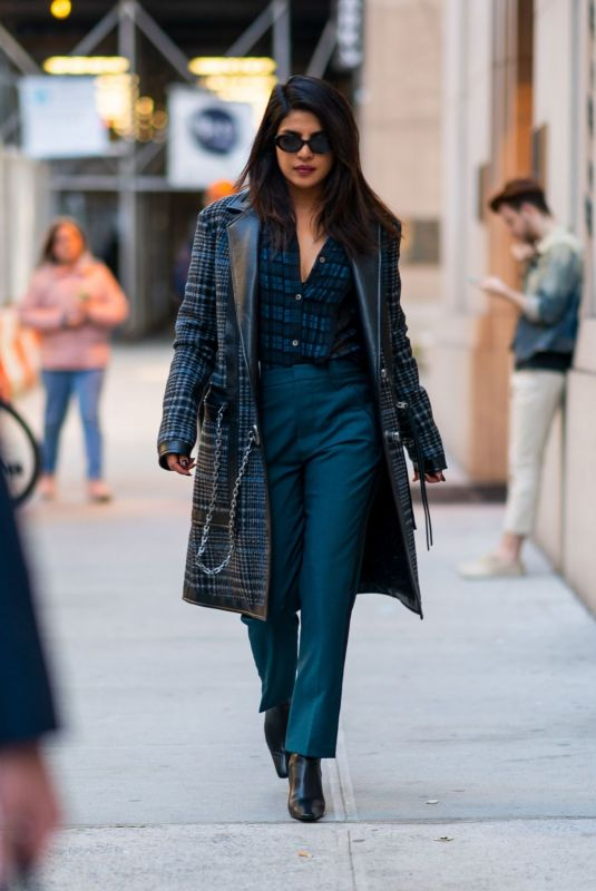 PRIYANKA CHOPRA Out in New York 04/06/2019