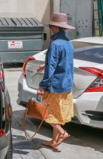 REESE WITHERSPOON at a Nail Salon in Beverly Hills 04/19/2019