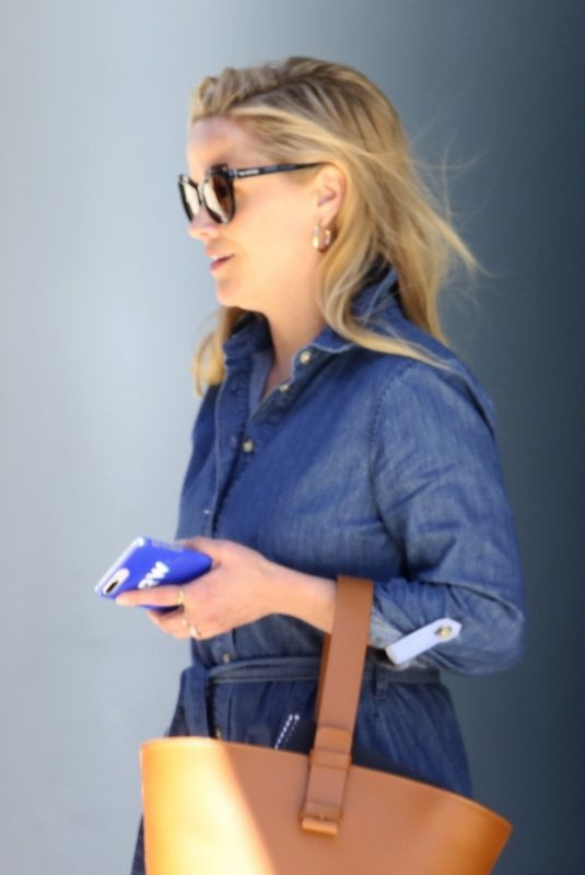 REESE WITHERSPOON Out in Beverly Hills 04/10/2019