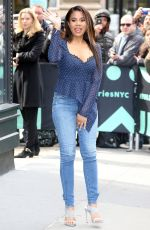 REGINA HALL Arrives at Build Series in New York 04/02/2019