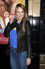 RHIAN SUGDEN at Hair the Musical Opening Night in Manchester 04/09/2019