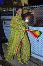 RIHANNA at Reggae Star Buju Banton Concert in Barbados 04/28/2019