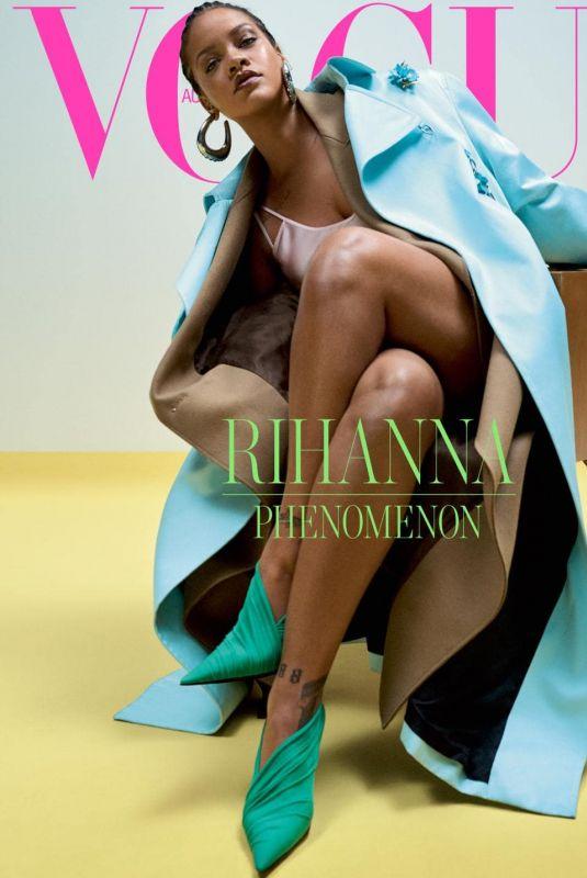 RIHANNA for Vogue Magazine, Australia May 2019
