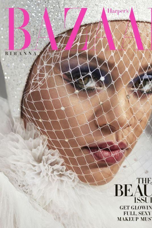 RIHANNA in Harper's Bazaar Magazine, May 2019