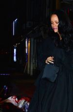 RIHANNA Night Out in New York 04/15/2019