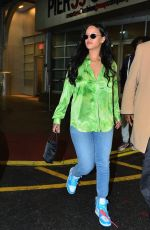 RIHANNA Out and About in New York 04/15/2019