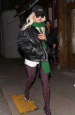 RITA ORA Arrives at Laylow Club in Notting Hill 04/14/2019