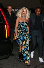 RITA ORA Arrives at Marc Jacobs
