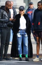 RITA ORA Out and About in New York 04/05/2019
