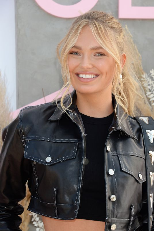 ROMEE STRIJD at Revolve Party at Coachella Festival 04/14/2019