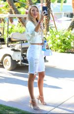 ROMEE STRIJD Out at Coachella Music Festival 04/13/2019