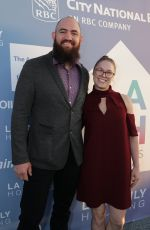 RONDA ROUSEY at LAFH Awards and Fundraiser in West Hollywood 04/25/2019