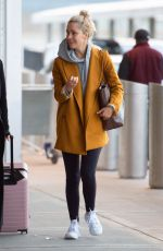 ROSE BYRNE at JFK Airport in New York 03/30/2019