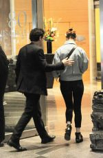 ROSE LESLIE and Kit Harington Out in New York 04/08/2019