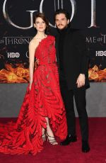 ROSE LESLIE at Game of Thrones, Season 8 Premiere in New York 04/03/2019