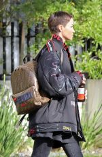 RUBY ROSE Out and About in Hollywood 04/05/2019