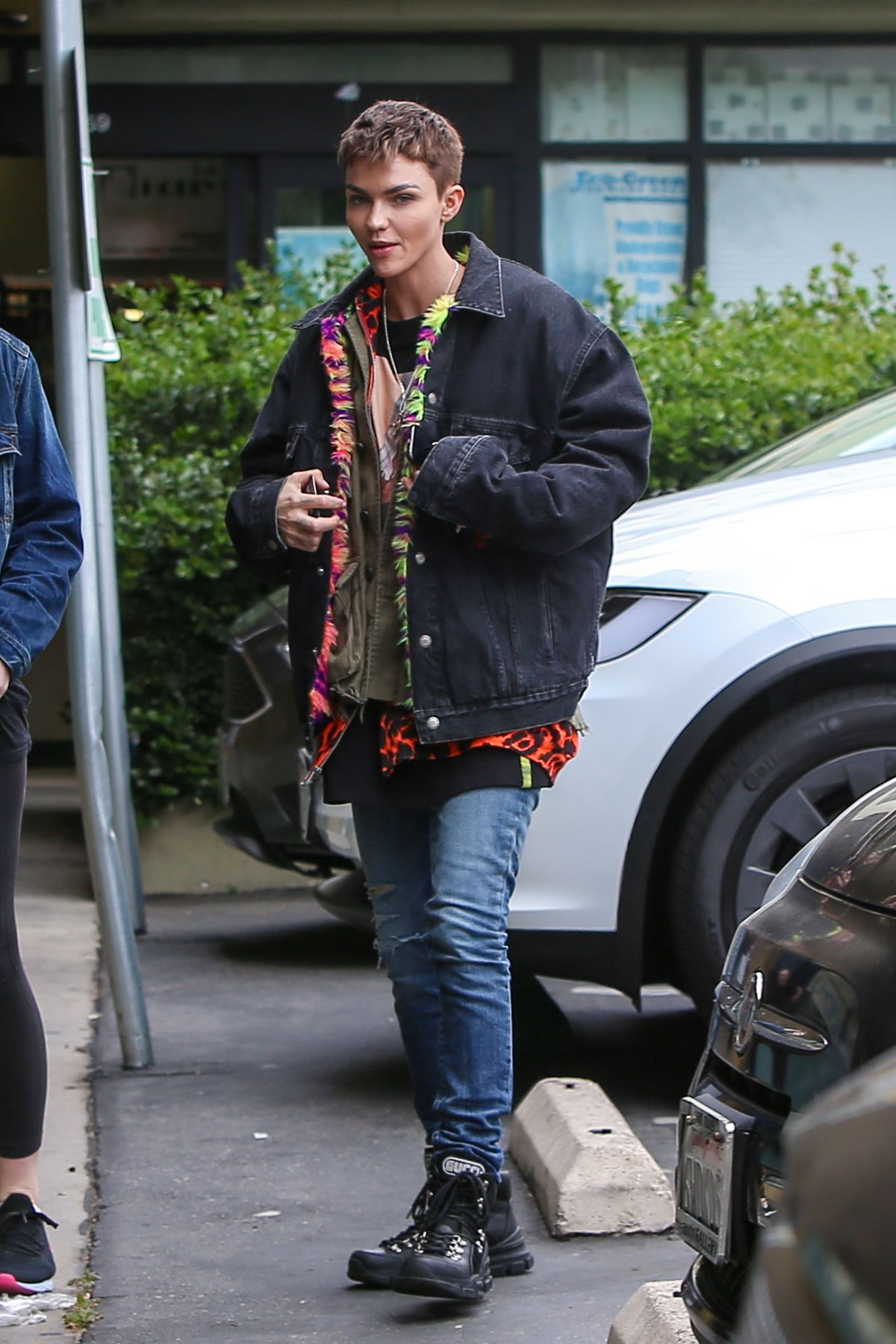 Ruby Rose Out For Lunch In West Hollywood 04 16 2019