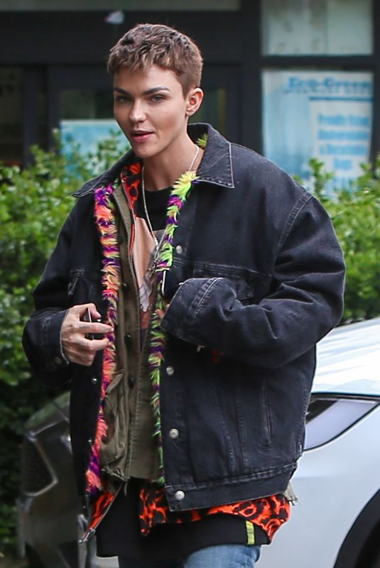 RUBY ROSE Out for Lunch in West Hollywood 04/16/2019