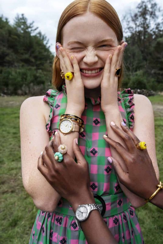 SADIE SINK for Kate Spade Spring 2019 Campaign