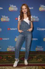 SADIE STANLEY at Disney Channel Fan Fest in Anaheim 04/27/2019