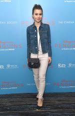 SAMI GAYLE at Penguins Screening in New York 04/14/2019