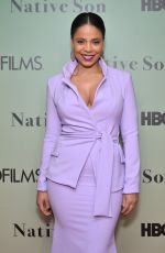 SANAA LATHAN at Native Son Screening in New York 06/01/2019