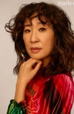 SANDRA OH in Marie Claire Magazine, May 2019