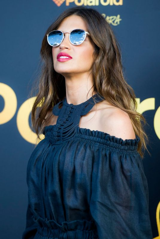 SARA CARBONERO Presents New Polaroid Sunglasses in Madrid 04/11/2019