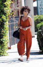 SARAH HYLAND Leaves Shape House Spa in Studio City 04/06/2019