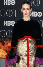 SARAH PAULSON at Game of Thrones, Season 8 Premiere in New York 04/03/2019