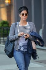 SARAH SILVERMAN Out in New York 04/24/2019