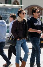 SARAH WAYNE CALLIES and Jon Bernthal Out in New York 04/10/2019