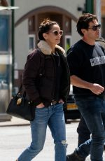 SARAH WAYNE CALLIES Out and About in New York 04/10/2019