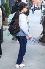 SASHA LANE Leaves Bowery Hotel in New York 04/10/2019