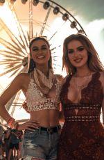 SAXON SHARBINO at Coachella - Instagram Pictures and Videos, April 2019