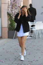 SCARLET STALLONE Out Shopping in Beverly Hills 04/17/2019