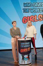 SCARLETT JOHANSSON and BRIE LARSON at Ellen Degeneres Show 04/23/2019