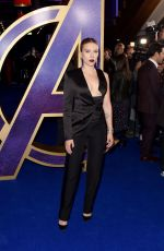 SCARLETT JOHANSSON at Avengers: Endgame UK Fan Event in London 04/10/2019