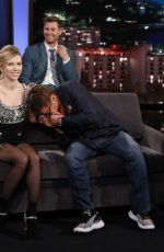 SCARLETT JOHANSSON at Jimmy Kimmel Live! in Hollywood 04/08/2019