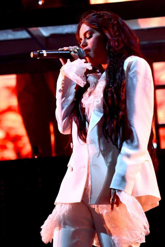 SELENA GOMEZ Performs at Outdoor Stage at Coachella in Indio 04/12/2019