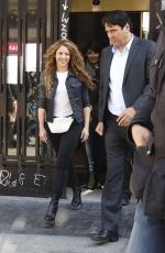 SHAKIRA at a Court in Madrid 04/07/2019