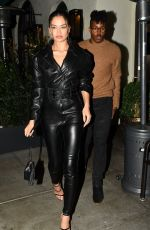 SHANINA SHAIK and DJ Rukus at Madeos in Beverly Hills 04/05/2019