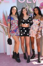 SHANINA SHAIK, SARA AMPAIO, JASMINE TOOKES and ROMEE STRIJD at Revolve Party at Coachella Festival in Indio 04/13/2019
