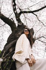 SHAY MITCHELL at a Park in Japan - Instagram Pictures 04/01/2019