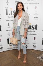 SHELBY TRIBBLE at The List Launch Party in London 04/03/2019