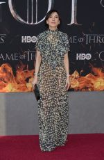 SIBEL KEKILLI at Game of Thrones, Season 8 Premiere in New York 04/03/2019