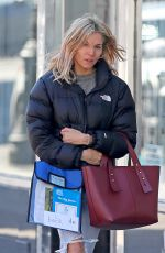 SIENNA MILLER Out in New York 04/03/2019